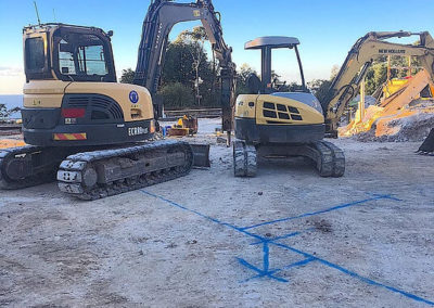 Cape Byron Excavations Machinery - Heavy Ground Working Machines